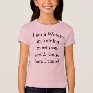 Woman in Training T-Shirt