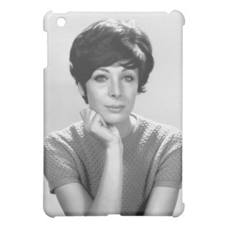 Woman Posing Cover For The iPad Mini