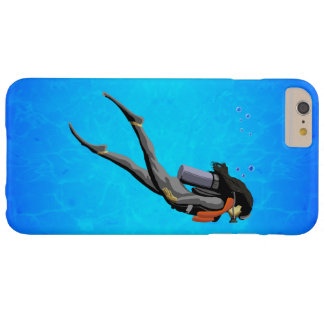 Woman SCUBA Diving Barely There iPhone 6 Plus Case