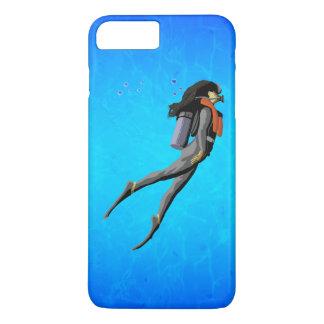 Woman SCUBA Diving iPhone 8 Plus/7 Plus Case