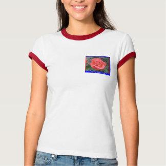 Woman Shirt, 2010 - T-Shirt, Red Rose. T-Shirt