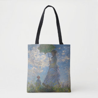 Woman with a Parasol by Claude Monet GalleryHD Tote Bag