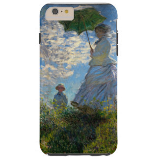 Woman with a Parasol - Madame Monet and Her Son Tough iPhone 6 Plus Case
