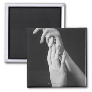 Womans Hands Magnet