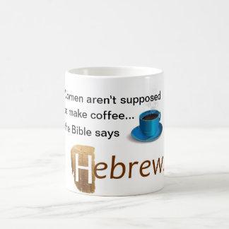 Women aren't supposed to make coffee coffee mug
