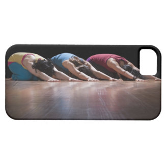 Women doing Child's pose iPhone 5 Cover