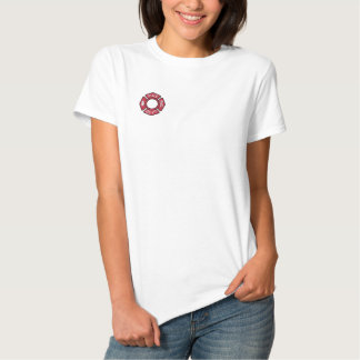 Women Firefighters Embroidered Shirt