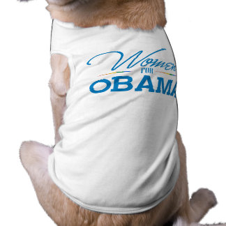 Women for Obama Pet Tshirt