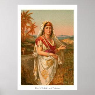 Women In The Bible - Sarah The Princess Poster