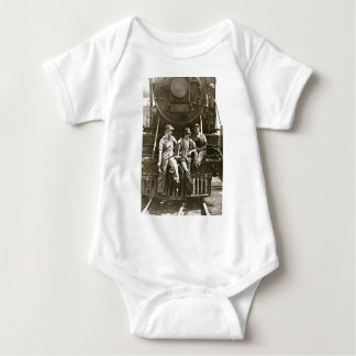 Women Locomotive Mechanics 1918 WWI Baby Bodysuit