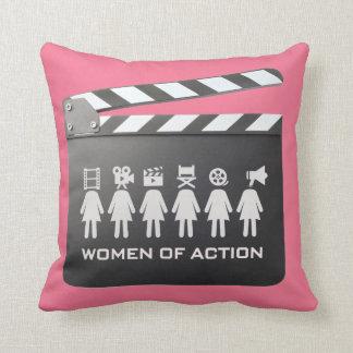 women of action pillow