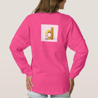 women pink shirt