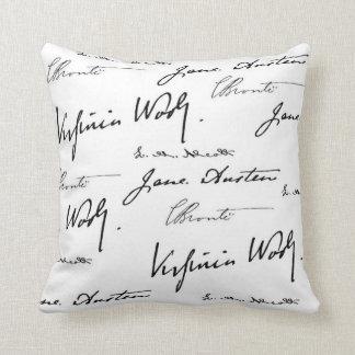 Women Writers Cushion
