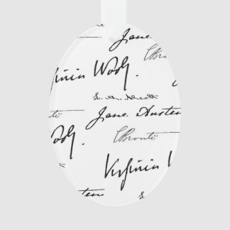 Women Writers double-sided Ornament