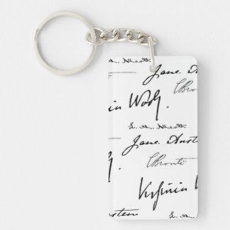 Women Writers Key Ring