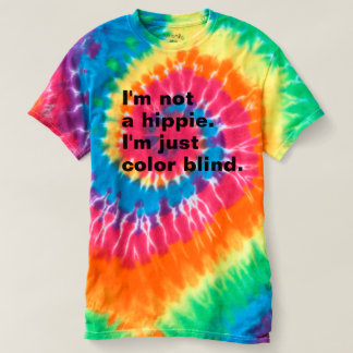 Women'd LOL T-Shirt: Color Blind (Tie-dye) Tee Shirt
