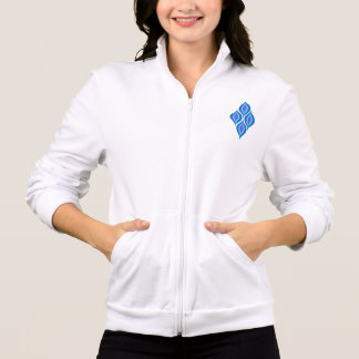 Women's American Apparel Jacket with Blue Design