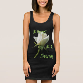 Women's As Sweet Black Jersey Tank Dress