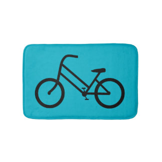 Women's Bicycle Bath Mats