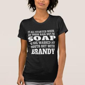 Women's Brandy Drinking T-Shirt