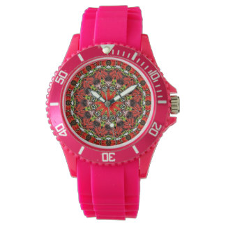 Women's Brilliant Red Watch