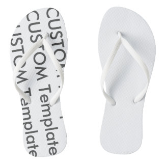 Women's Custom Flip Flops Thongs