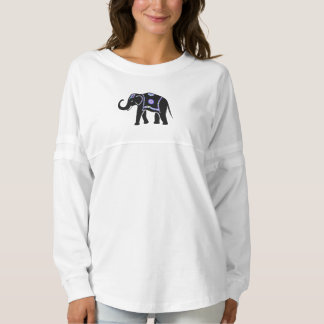 Womens Elephant Long Sleeve Shirt