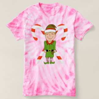 Women's Elf Tie-Dye T-Shirt