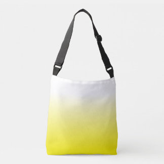 Women's Fashion Trendy Yellow Ombre Tote Bag