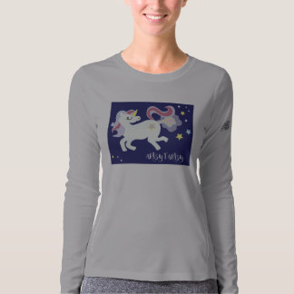 Women's fitted long sleeve T-shirt