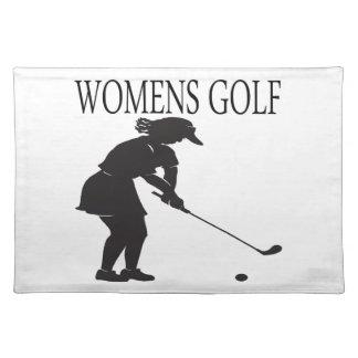 Womens Golf Placemat