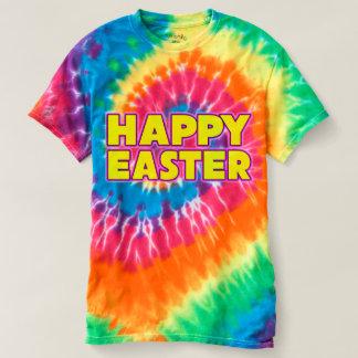 Women's Happy Easter Tie Dye T-Shirt