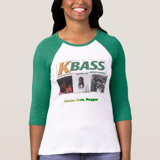 Women's K-Bass Peace, Love, Reggae Shirt