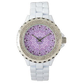 Womens Lavender Sundial Watch