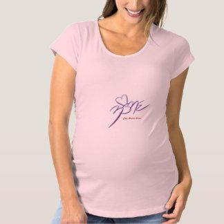 Women's Maternity Shirt~One Heart Zone Maternity T-Shirt