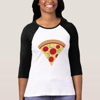 Women's Pizza Emoji Longsleeve Shirt