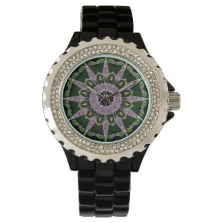 Women's Pointed Sundial Watch