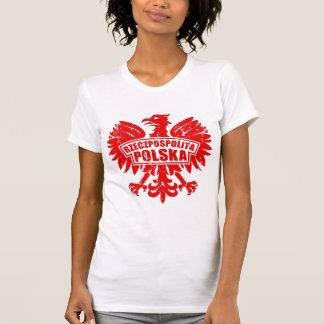 "Womens Poland ""Rzeczpospolita Polska"" Eagle T-Shirt"
