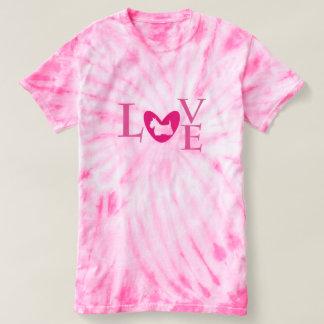 Women's Scottie tie-dye t-shirt