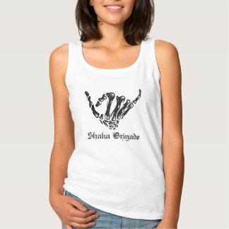 Womens - Shaka Brigade OG Logo Singlet
