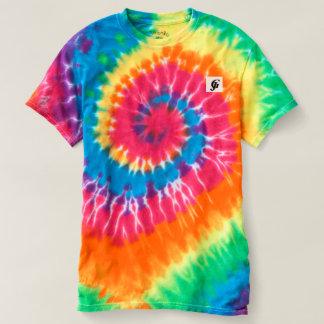 Women's Spiral Tie-Dye Fun T-Shirt