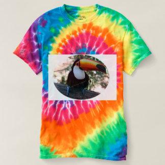 Women's Spiral Tie-Dye T-Shirt, Rainbow Swirl T-Shirt