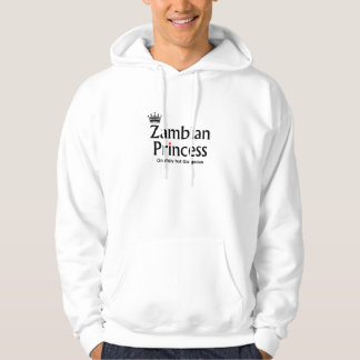 Womens sweatshirt - zambian princess