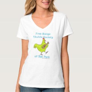 """Women's V neck short sleeve """"Fru Shirt"""" T-Shirt"""