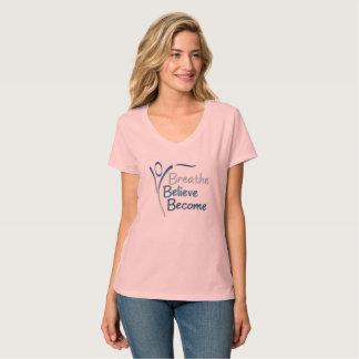 Women's V-Neck Short Sleeve T-Shirt