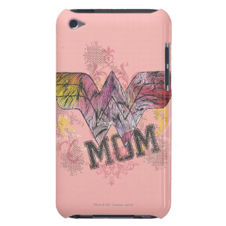 Wonder Mom Mixed Media Barely There iPod Cover