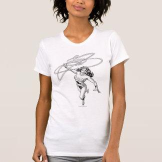 Wonder Woman Black & White Twirl T-Shirt