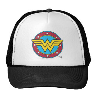 Wonder Woman | Circle & Stars Logo Cap