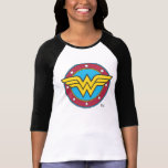 Wonder Woman Circle & Stars Logo T-shirts