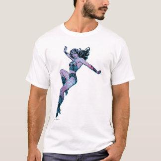 Wonder Woman Colorful Pose T-Shirt